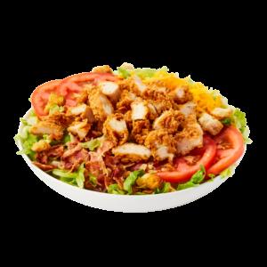 crispy chicken blt salad